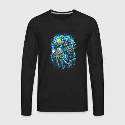 Destroy The City - Men's Premium Long Sleeve T-Shirt