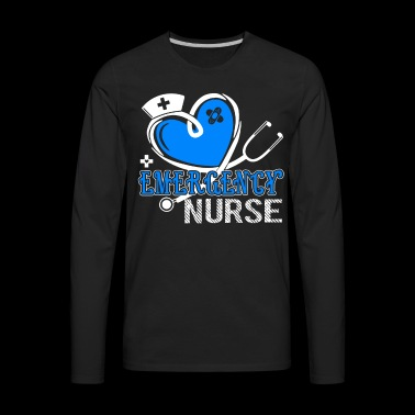 Emergency Nurse Shirt - Men's Premium Long Sleeve T-Shirt