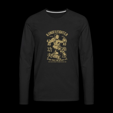 KUNGFU FIGHTER - Men's Premium Long Sleeve T-Shirt