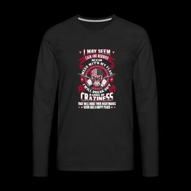Military - Your nightmares seem like a happy pla - Men's Premium Long Sleeve T-Shirt