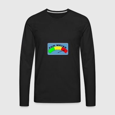 Fun Meter - Men's Premium Long Sleeve T-Shirt