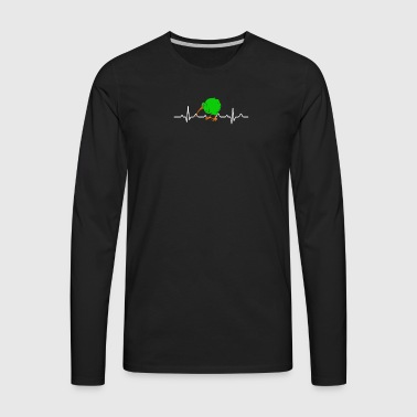 Kiwi Bird Shirt - Men's Premium Long Sleeve T-Shirt