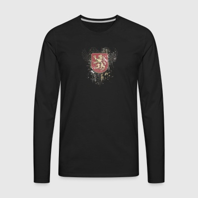 shield_with_grief - Men's Premium Long Sleeve T-Shirt