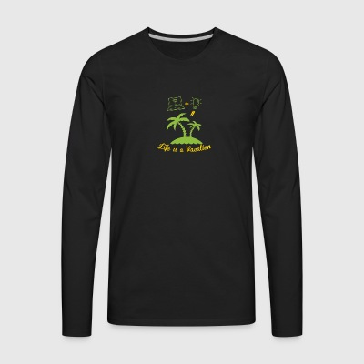Vacation - Men's Premium Long Sleeve T-Shirt