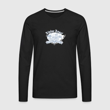 alpine_angel - Men's Premium Long Sleeve T-Shirt