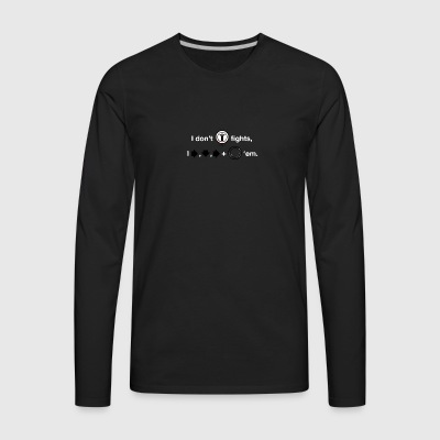 Finishing Move - Men's Premium Long Sleeve T-Shirt