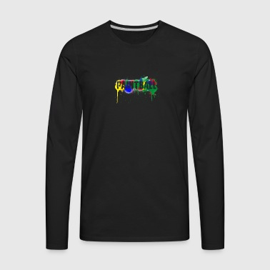 color paintball - Men's Premium Long Sleeve T-Shirt