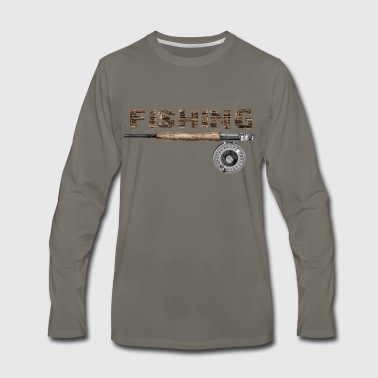 Fly fishing - Men's Premium Long Sleeve T-Shirt
