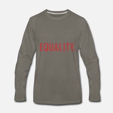 Equalizer EQUALITY - Men's Premium Long Sleeve T-Shirt