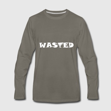 GTA T - Wasted - Men's Premium Long Sleeve T-Shirt