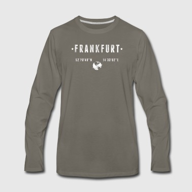 Frankfurt - Men's Premium Long Sleeve T-Shirt