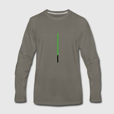 Green Lightsaber - Men's Premium Long Sleeve T-Shirt