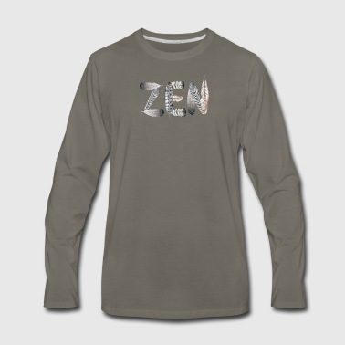 Zen - Men's Premium Long Sleeve T-Shirt