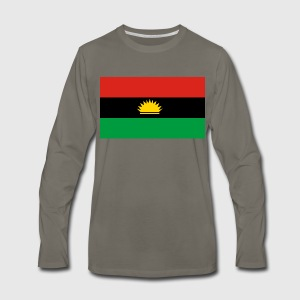 Biafra flag by spreadshirt mens premium long sleeve t shirt thecheapjerseys Image collections