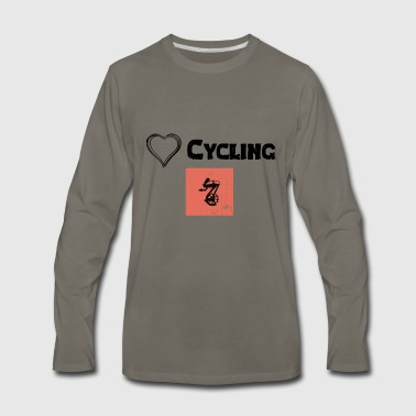 Kilometer We Love Cycling - Men's Premium Long Sleeve T-Shirt