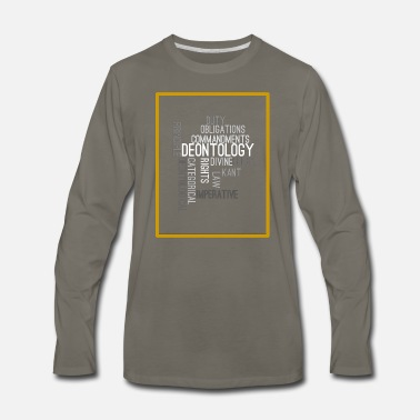 Ethics ethics quotes - Men's Premium Longsleeve Shirt