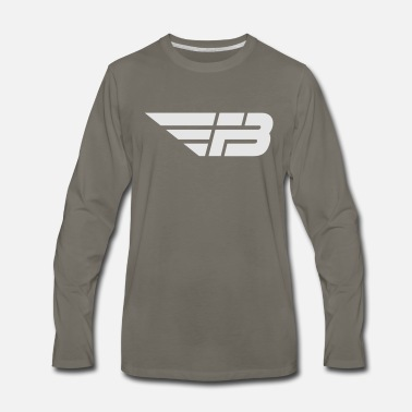 FBL White (no name) - Men's Premium Longsleeve Shirt