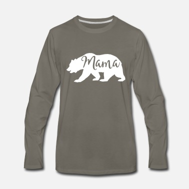Mama Bear mama bear - Men's Premium Long Sleeve T-Shirt