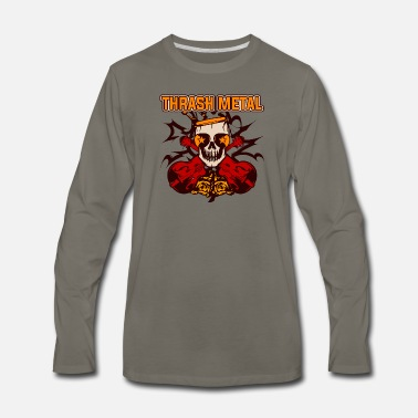 Thrash Thrash Metal - Men's Premium Long Sleeve T-Shirt