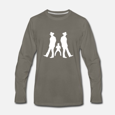 Line Dancing Line Dance - Men's Premium Long Sleeve T-Shirt
