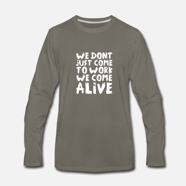 Alive Alive - Men's Premium Long Sleeve T-Shirt