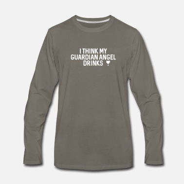 Guardian Angel GUARDIAN ANGEL - Men's Premium Long Sleeve T-Shirt