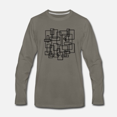 Rectangle rectangled - Men's Premium Long Sleeve T-Shirt