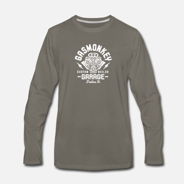 Gas GAS MONKEY GARAGE - Men's Premium Long Sleeve T-Shirt