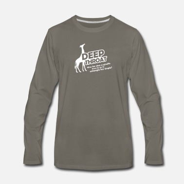 Deep Throat Deep Throat - Men's Premium Long Sleeve T-Shirt