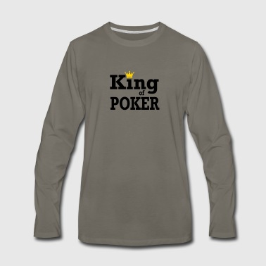 King of Poker - Men's Premium Long Sleeve T-Shirt