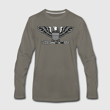 2000px US O6 insignia svg - Men's Premium Long Sleeve T-Shirt