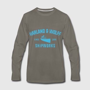 Harland and Wolff - Men's Premium Long Sleeve T-Shirt
