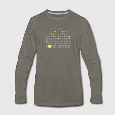 Electro - Men's Premium Long Sleeve T-Shirt