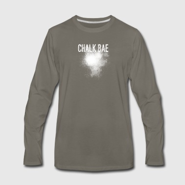 Chalk Bae - Men's Premium Long Sleeve T-Shirt