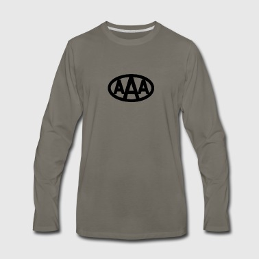 AAA wdd logo - Men's Premium Long Sleeve T-Shirt