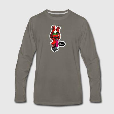chili - Men's Premium Long Sleeve T-Shirt