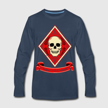 Death of Diamond Card - Men's Premium Long Sleeve T-Shirt
