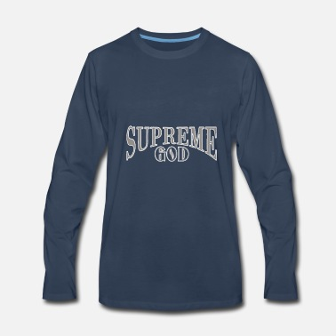 Supreme Supreme God - Men's Premium Long Sleeve T-Shirt