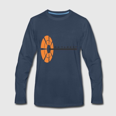 On Target - Men's Premium Long Sleeve T-Shirt
