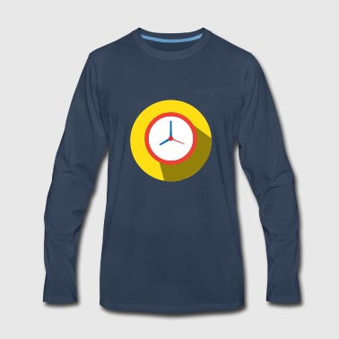 Clock - Men's Premium Long Sleeve T-Shirt