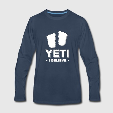 Yeti yeti - Men's Premium Long Sleeve T-Shirt