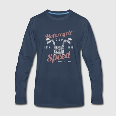 Motorcycle Club Speed - Men's Premium Long Sleeve T-Shirt