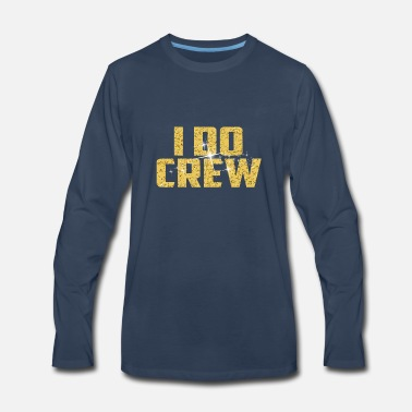 Marriage I Do Crew Stagette Bridal parties - Men's Premium Long Sleeve T-Shirt
