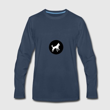 sweet dog design - Men's Premium Long Sleeve T-Shirt