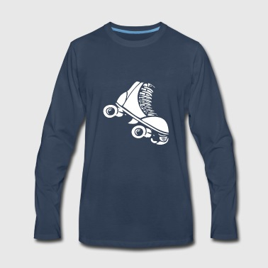ROLLER SKATE - Men's Premium Long Sleeve T-Shirt
