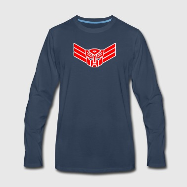 Cyb Elite Guard Badge - Men's Premium Long Sleeve T-Shirt