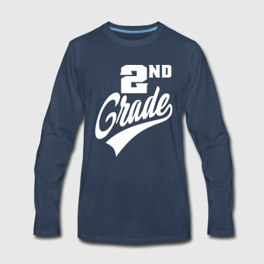 Grade 2nd Grade - Men's Premium Long Sleeve T-Shirt