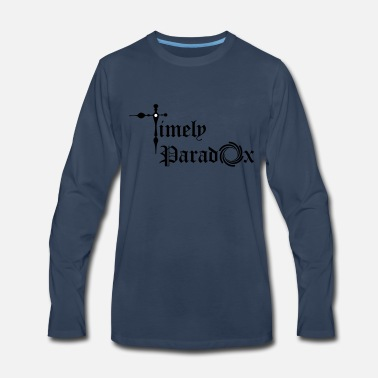 Paradox Timely Paradox - Men's Premium Long Sleeve T-Shirt