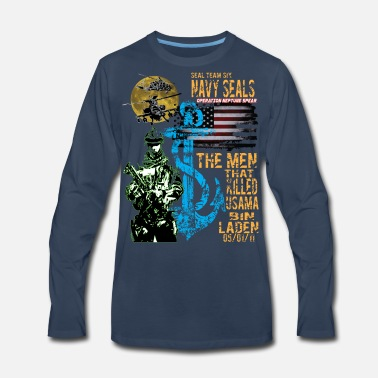 Navy Seals SEALS - Men's Premium Long Sleeve T-Shirt