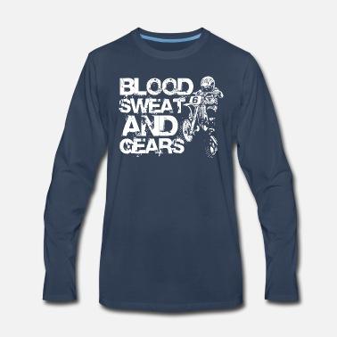 Blood sweat and cears - Men's Premium Longsleeve Shirt